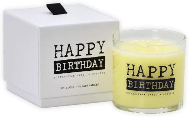 Buttercream Vanilla Cupcake Candle