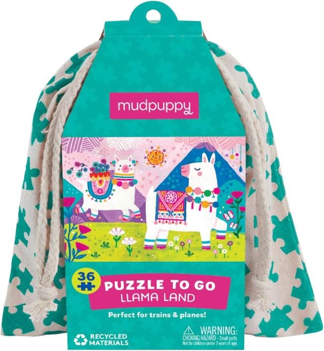 Llama Puzzle to Go 36 Pieces