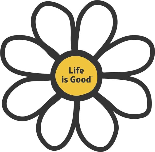 Life is Good Die Cut Sticker