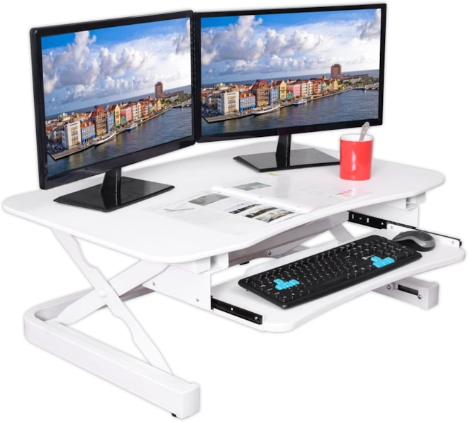 ApexDesk Sit to Stand Electric Desk Converter