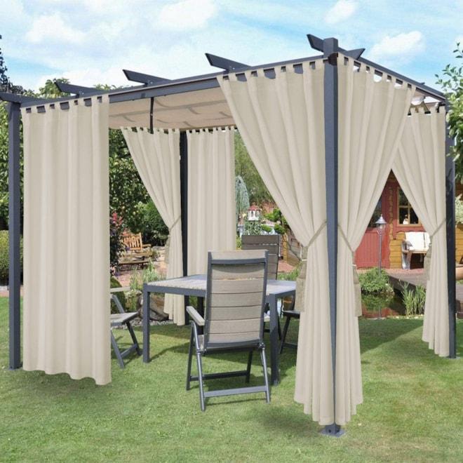 Waterproof Indoor/Outdoor Curtains for Patio