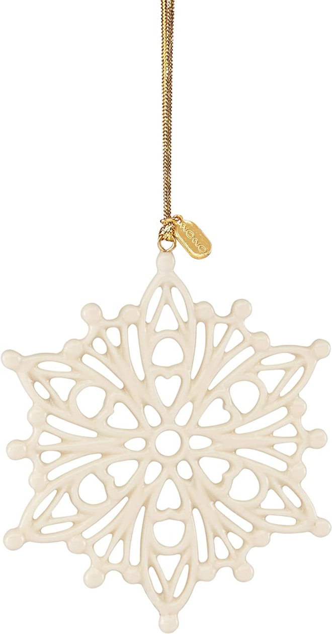Lenox 2020 Snow Fantasies Snowflake Ornament