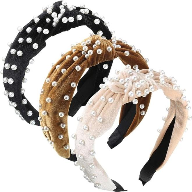 Pearls Headband Set