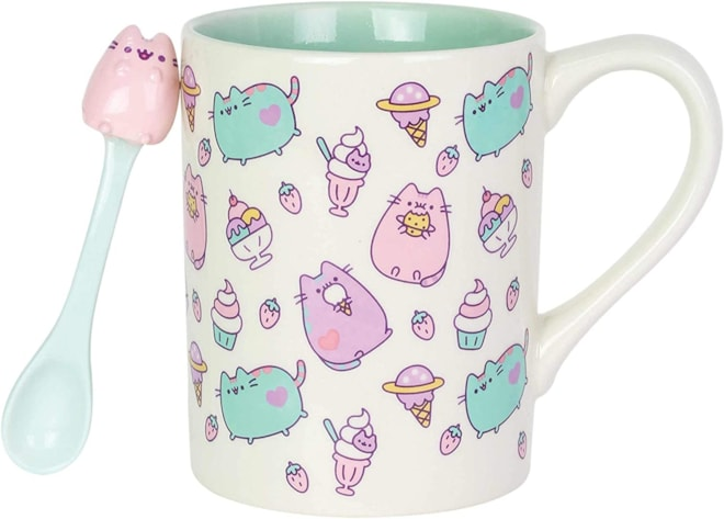Pusheen Mug & Spoon Set