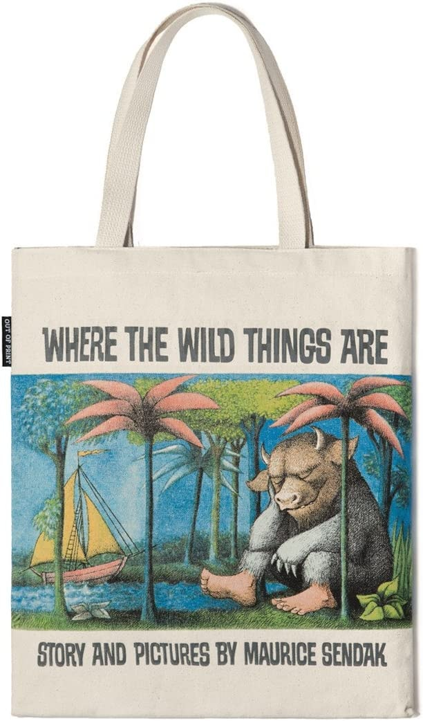 Out of Print Wild Things Tote Bag