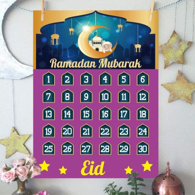 2021 Ramadan Calendar Eid Countdown