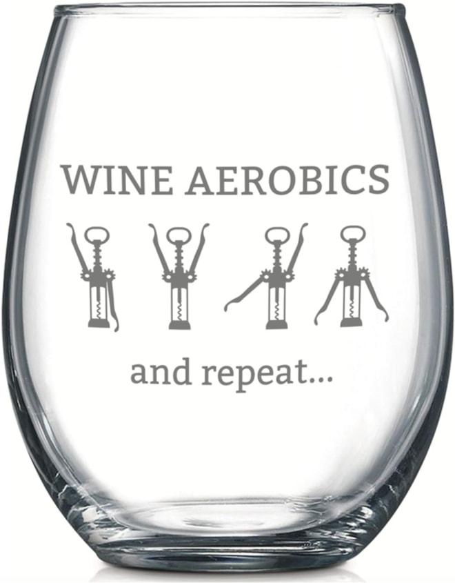 Wine Aerobics Wine Glass