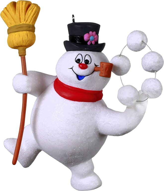 Hallmark Keepsake Christmas Ornament 2020, Frosty