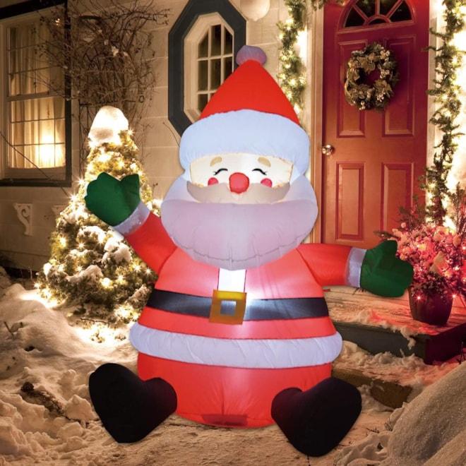 Christmas Inflatable Santa Claus
