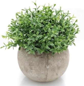 Mini  Artificial Plant In Pot