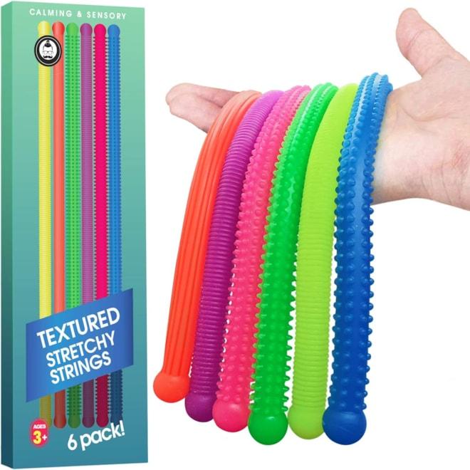 Sensory Toys - Calming Stretchy  6pk