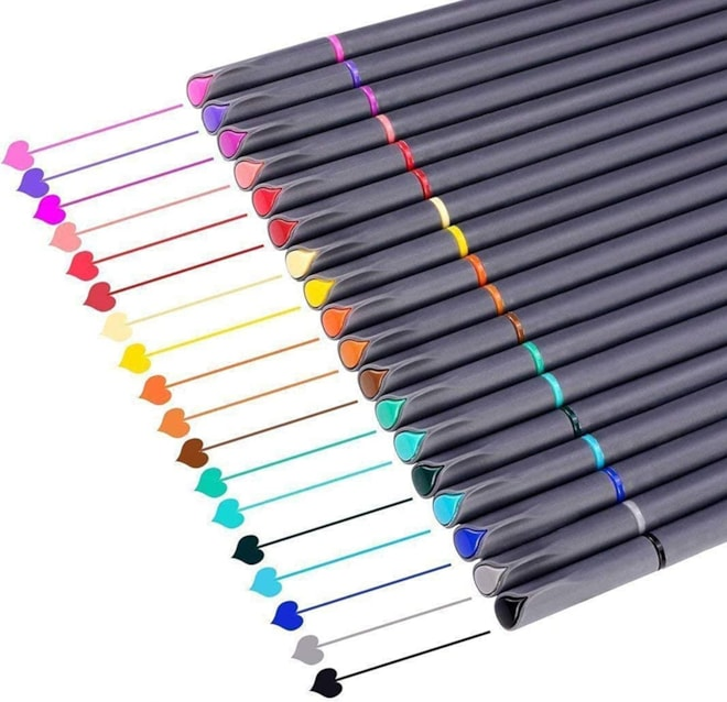 Bullet Journal Planner Pens