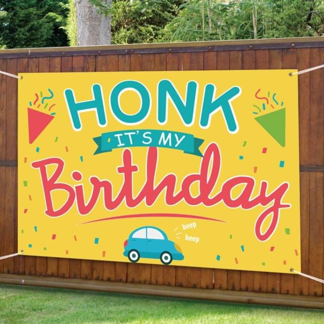 Honk Birthday Yard Sign