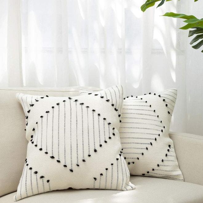 Boho Diamond Throw Pillow Covers