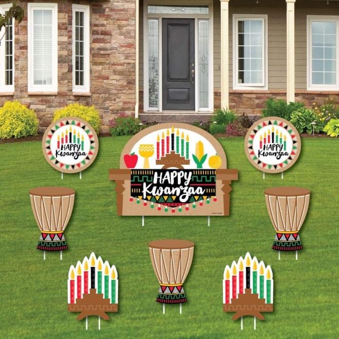 Happy Kwanzaa - Yard Sign Decor