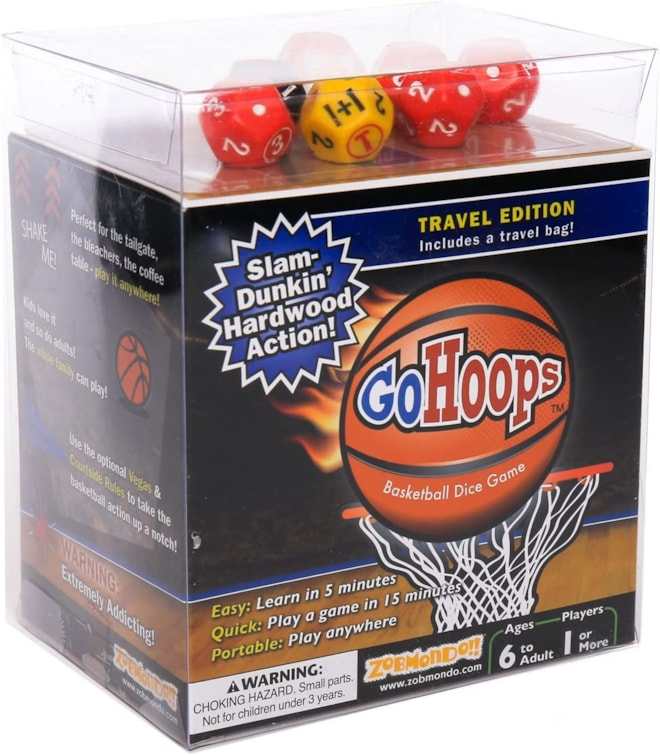GoHoops Basketball Dice Game