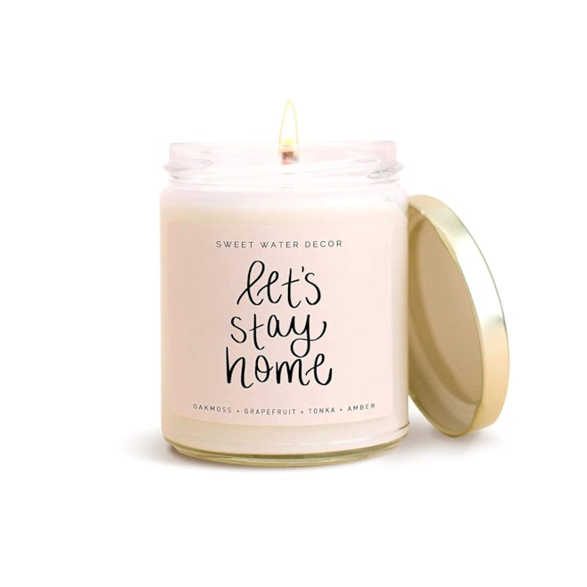 Let's Stay Home Scented Candle