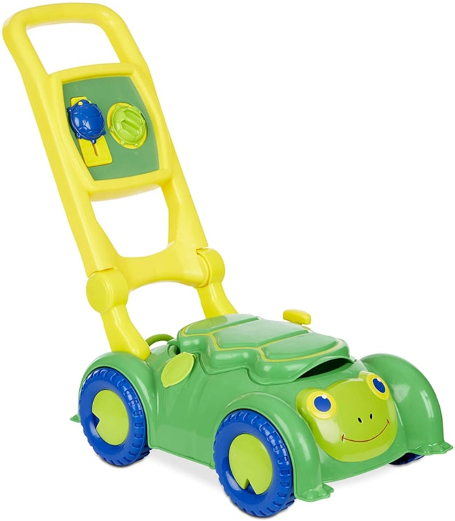 Melissa & Doug Snappy Turtle Lawn Mower