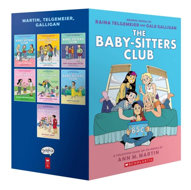 The Baby-Sitters Club Graphic Novels #1-7