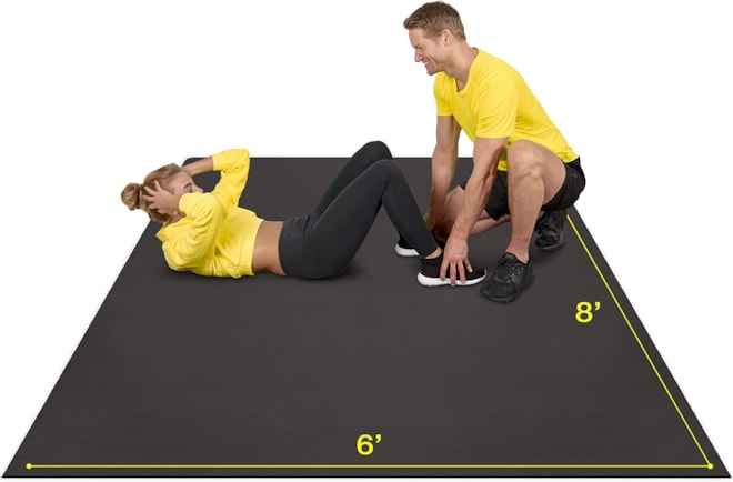 Premium Large Exercise Mat 8' x 6'