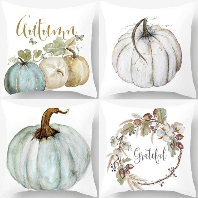 Autumn Pumpkin Pillow Covers