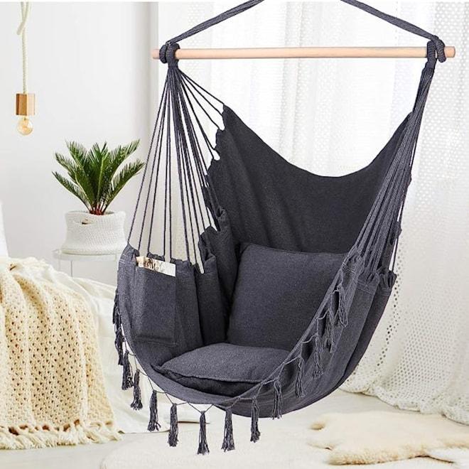 Hammock Chair Hanging Rope Swing