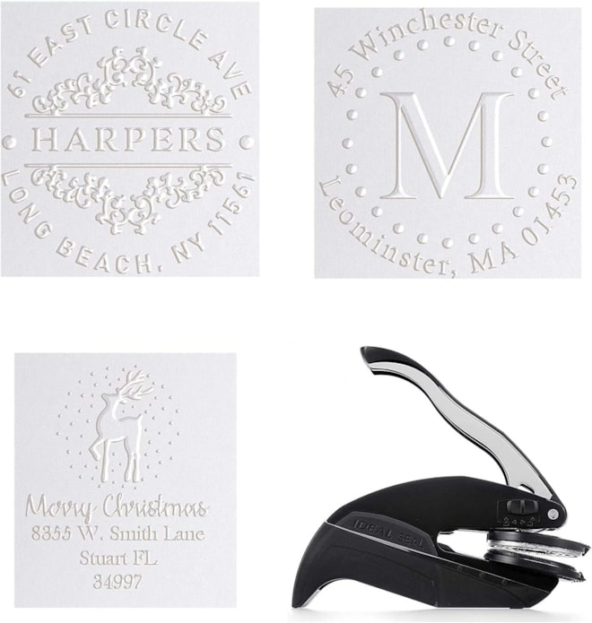Personalized Address Embosser Seal Stamp
