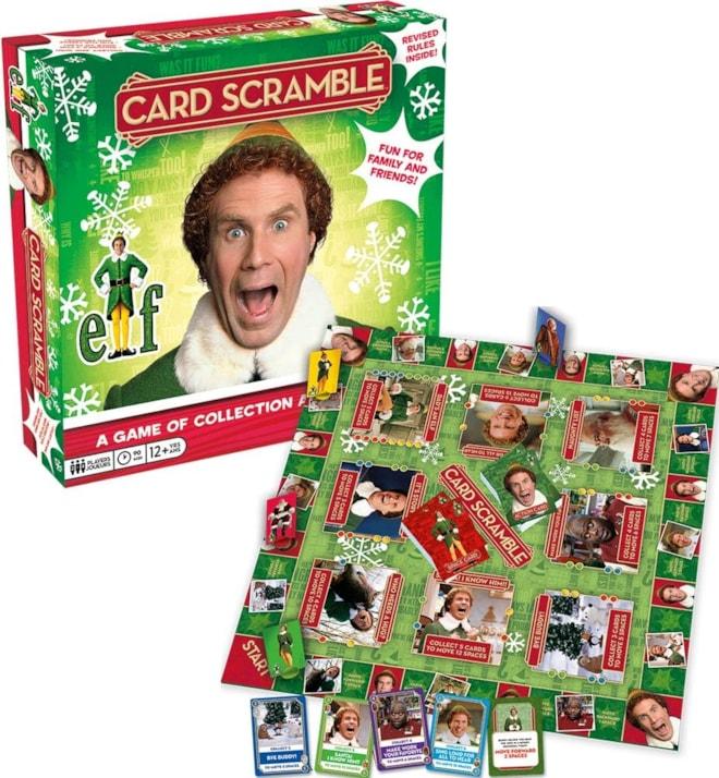 Elf Scramble Board Game