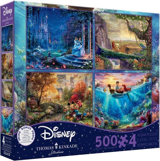 Disney Thomas Kinkade Puzzle Set