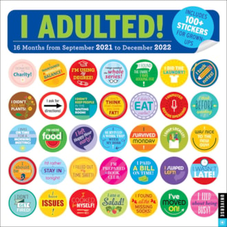 I Adulted! 21-22 Wall Calendar