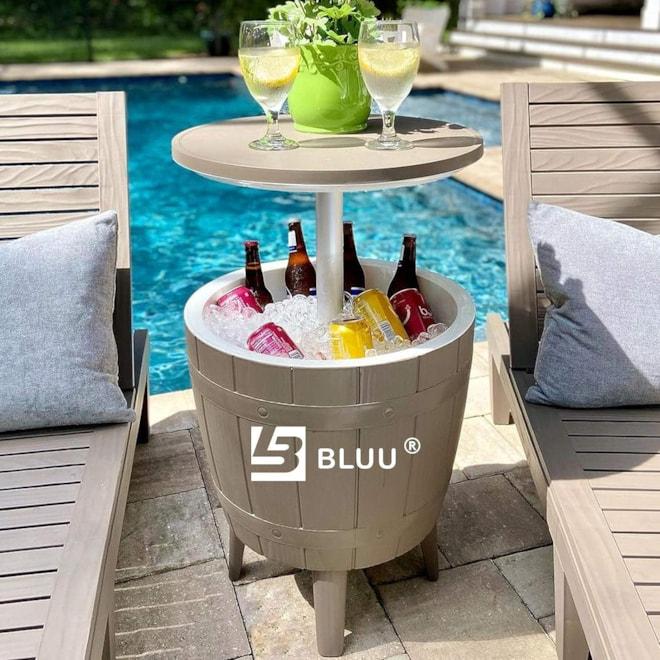 Cooler Bar Side Table