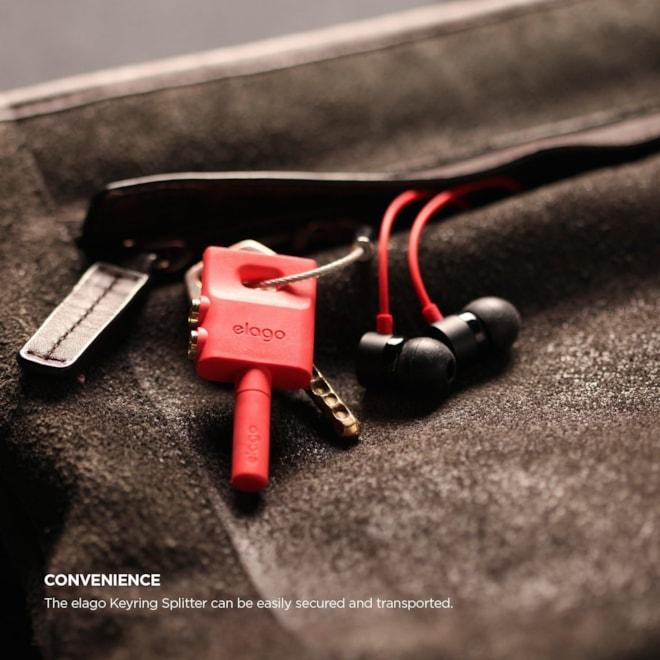 elago Keyring Headphone Splitter