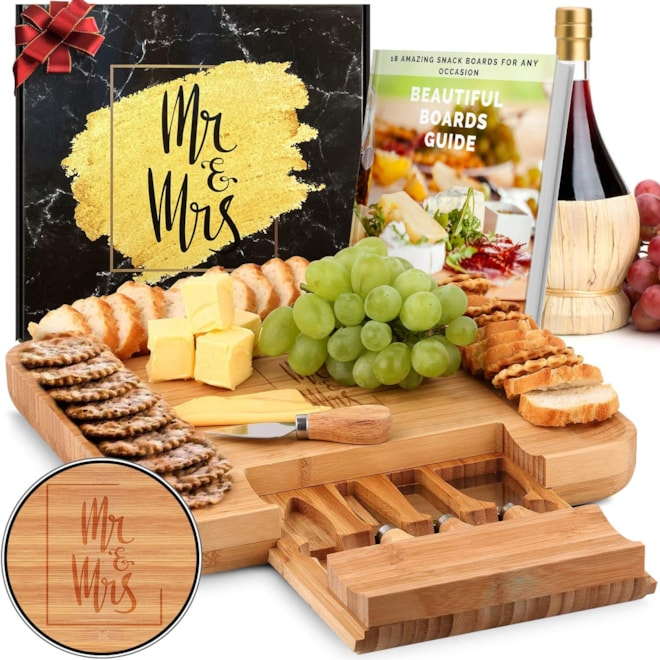 Mr. and Mrs. Cheese Board