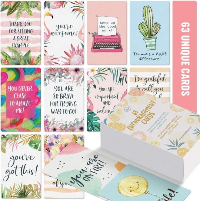 Inspirational Encouragement Cards