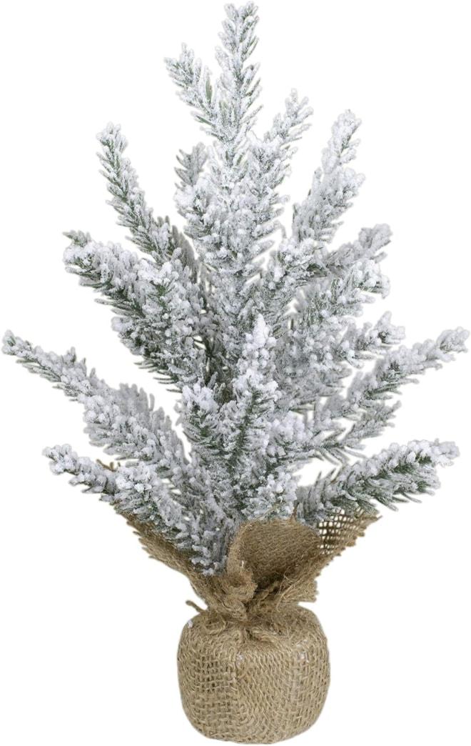 Northlight Artificial Flocked Mini Pine
