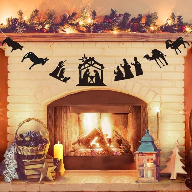 Nativity Christmas Banner