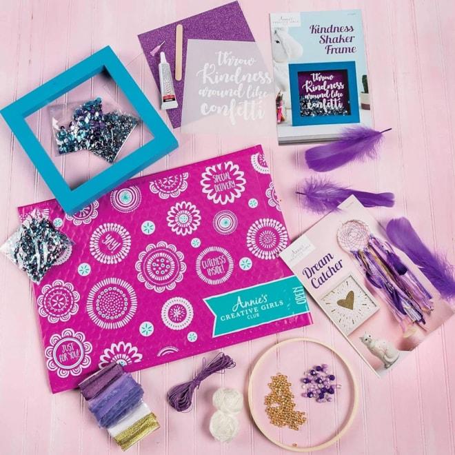 Creative Girls Club Craft Subscription Box
