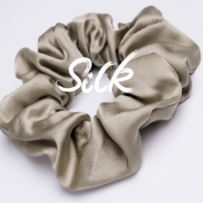 Silk Sleep Hair Scrunchies