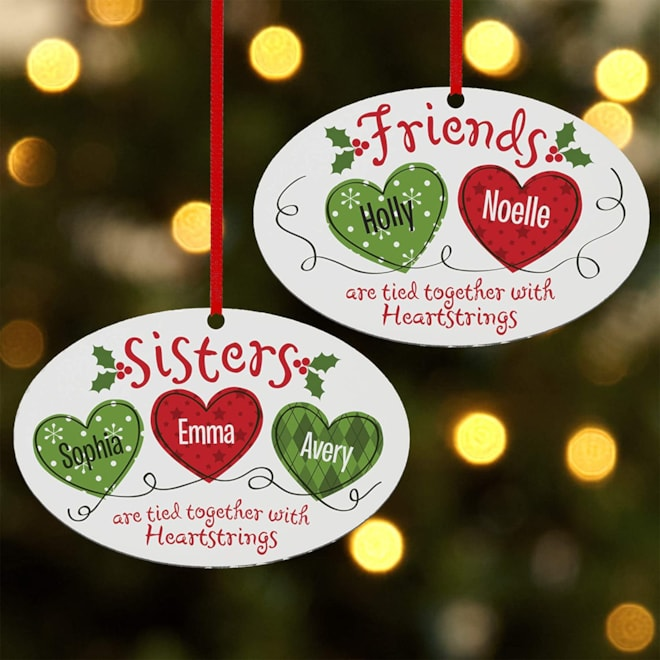 Let's Make Memories Personalized Oval Ornament