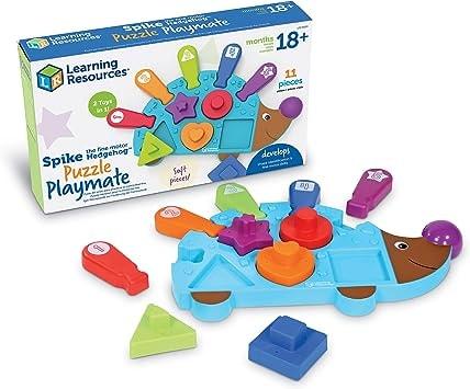 Spike The Fine Motor Hedgehog Puzzle Playmate