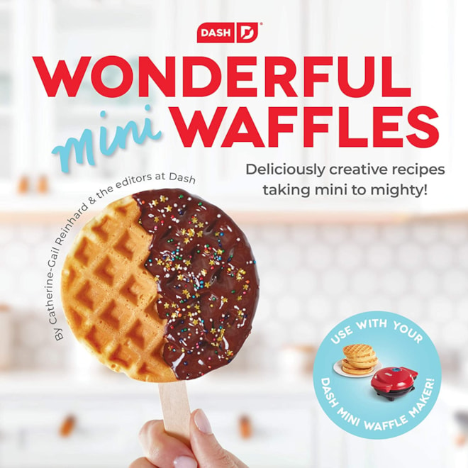 DASH Mini Waffles Recipe Book