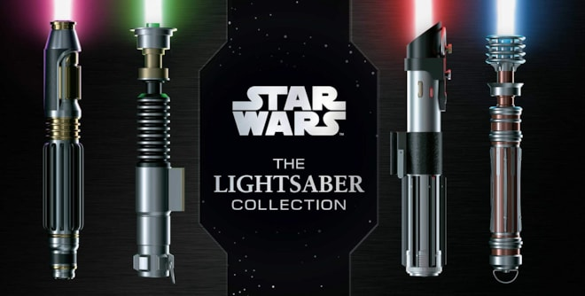 Star Wars Book: The Lightsaber Collection