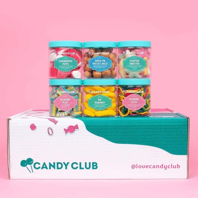 Candy Club Premium Candies Subscription Box
