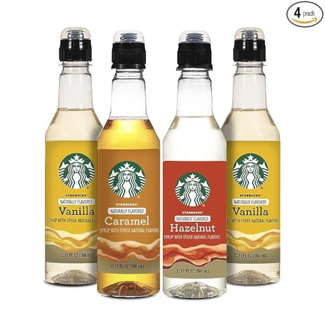 Starbucks Coffee Syrup Variety Pack