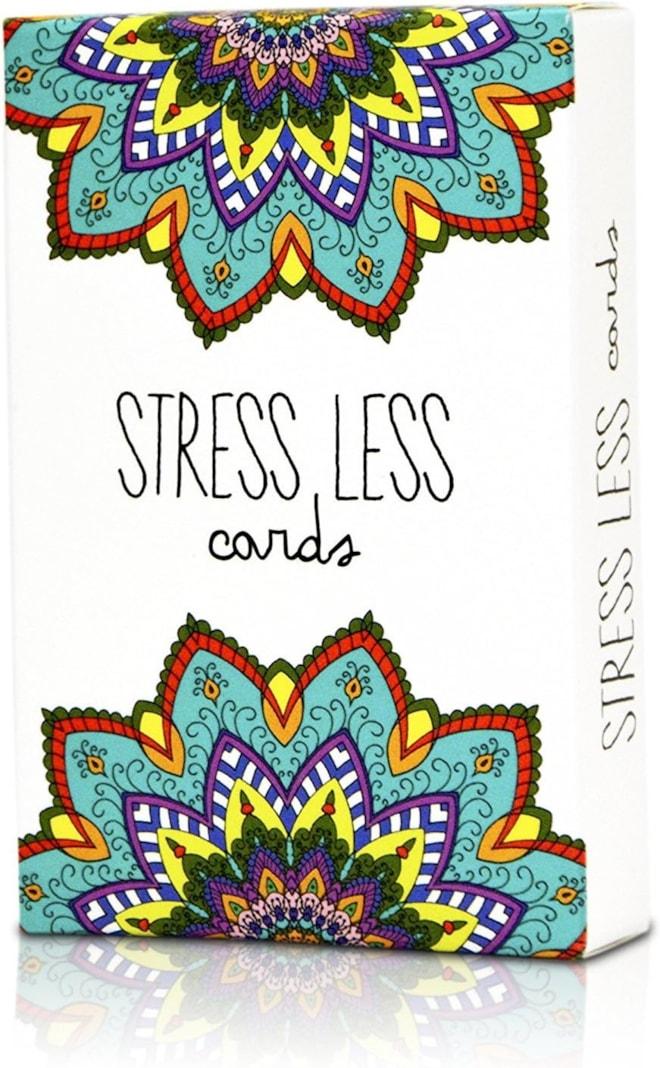 Stress Less Cards - 50 Inspirational Mindfulness & Meditation Exercises