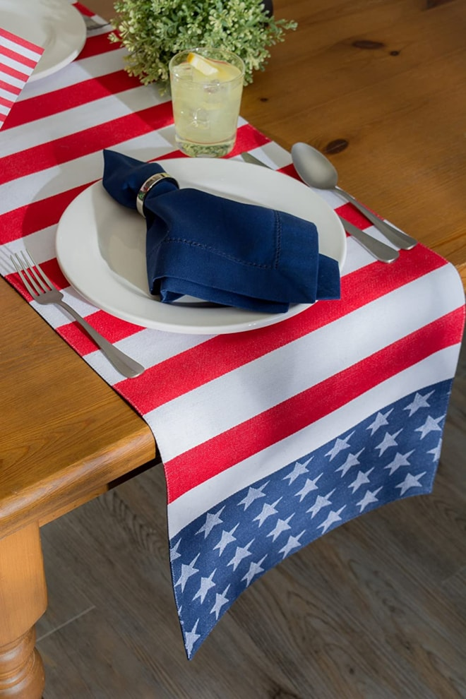 4th of July Table Runner