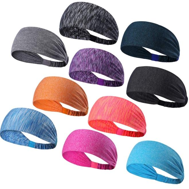 Set of 10 Athletic Workout Headband