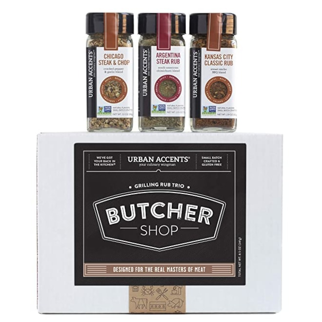 Gourmet Grilling Rub Trio of Spices Gift Set