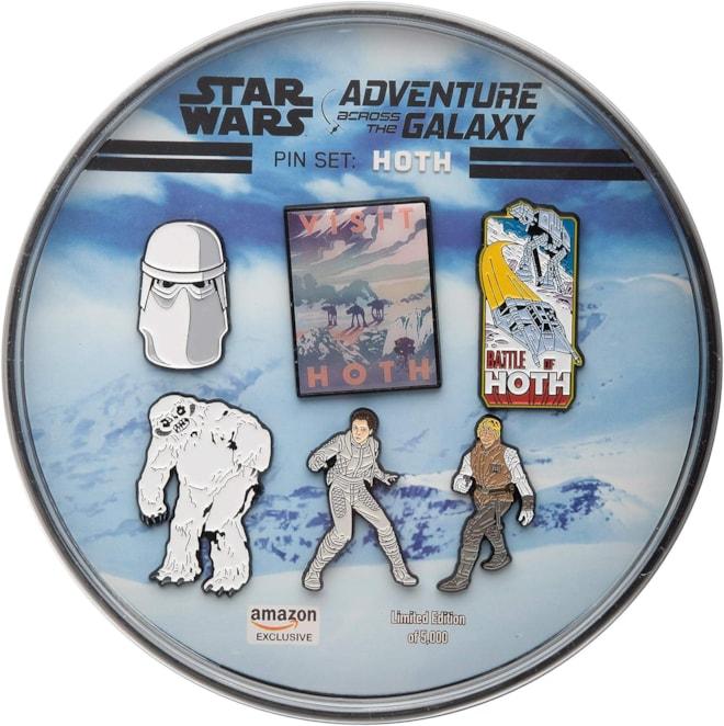 Hoth Enamel 6 Pin Set Star Wars