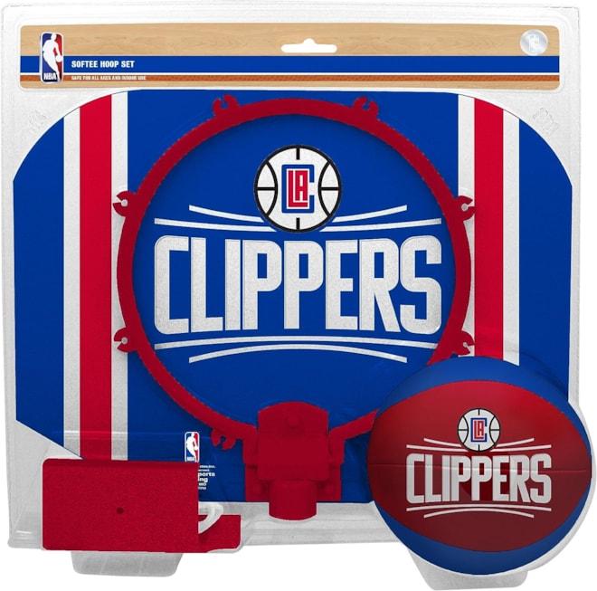 NBA Los Angeles Clippers Slam Dunk Softee Hoop Set